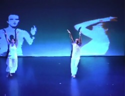 Dancers in Projections